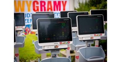 100 Kardiomonitorów Mindray BeneVision N12 dostarczonych dla WOŚP