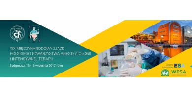 XIX Międzynarodowy Zjazd Polskiego Towarzystwa Anestezjologii i Intensywnej Terapii w Bydgoszczy