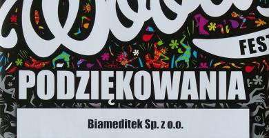 Sprzęt Biameditek na Przystanku Woodstock