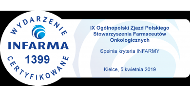 IX Ogólnopolski Zjazd Polskiego Stowarzyszenia Farmaceutów Onkologicznych