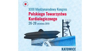 XXIII Międzynarodowy Kongres Polskiego Towarzystwa Kardiologicznego, 26-28 września 2019 r.