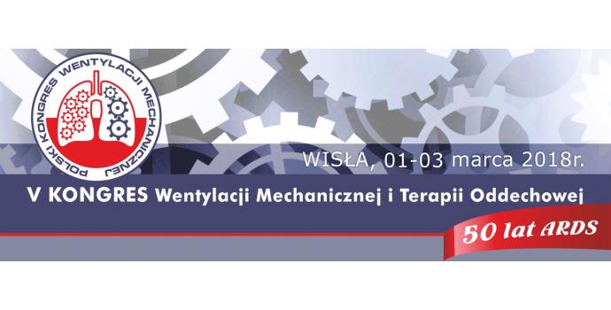 V Kongresie Wentylacji Mechanicznej i Terapii Oddechowej w Wiśle.